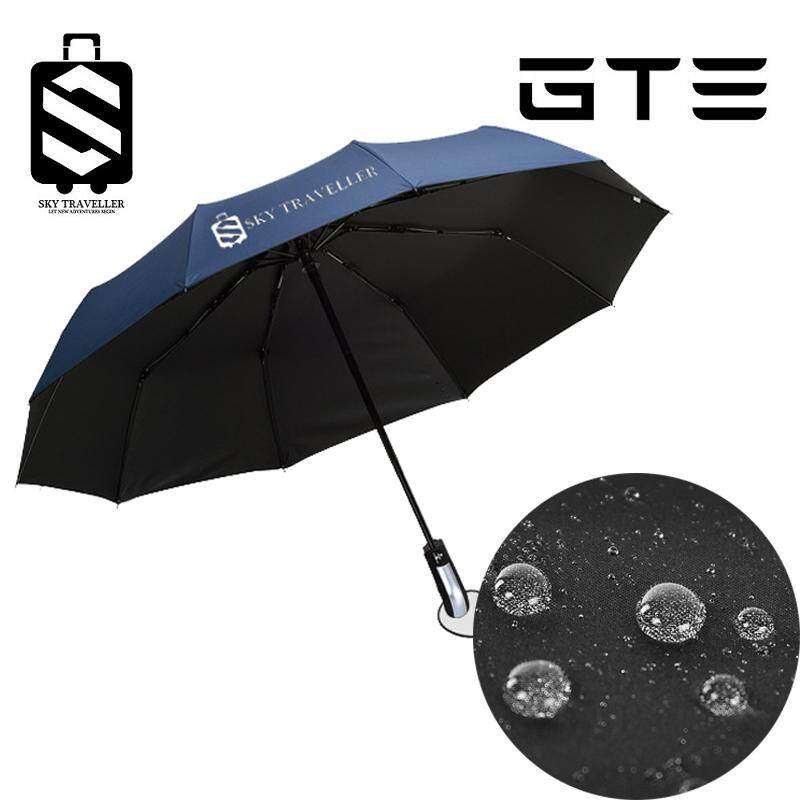 SKY TRAVELLER SKY338 Umbrella Automatic Folding Telescopic Sunscreen Sunshade Female Travel Outdoor Umbrella - Fulfilled by GTE SHOP
