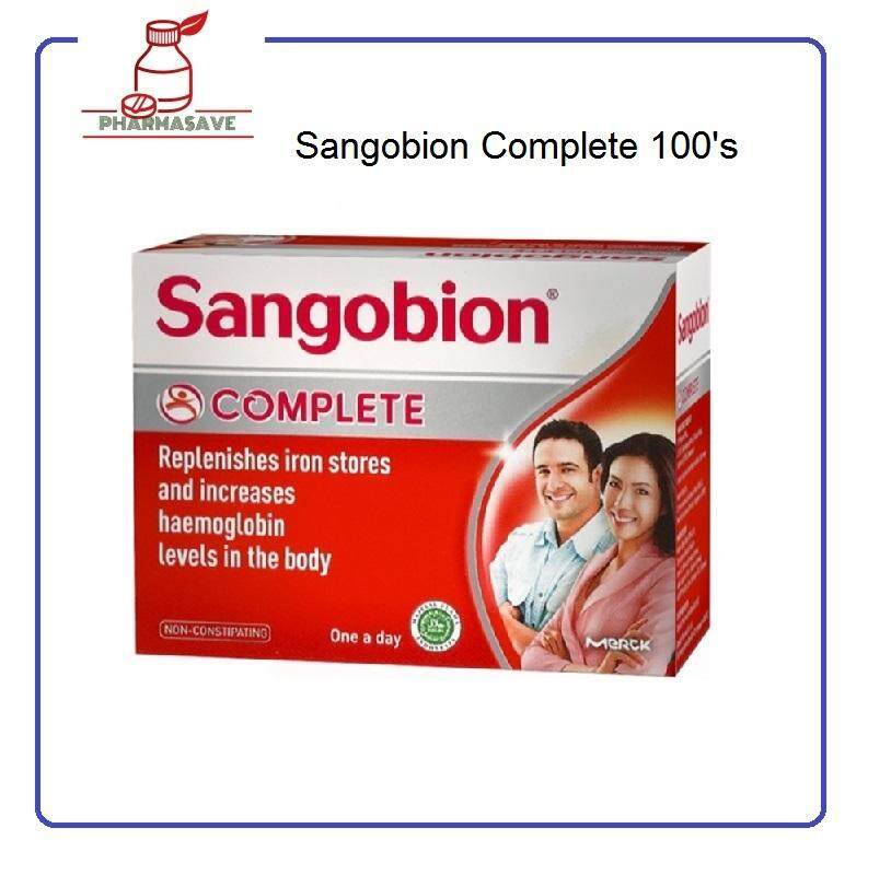 Sangobion Complete 100s By Pharmasave.