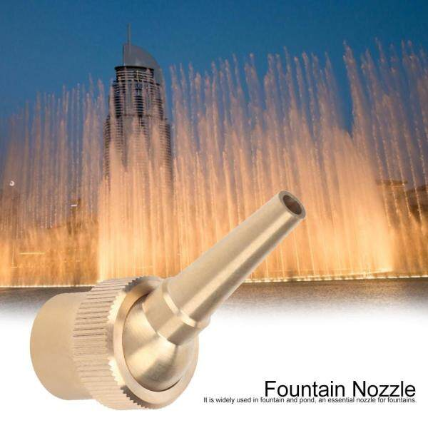 G1/2 DN15 Female Thread Brass Straight Fountain Nozzle Spray Head for Landscaping Use