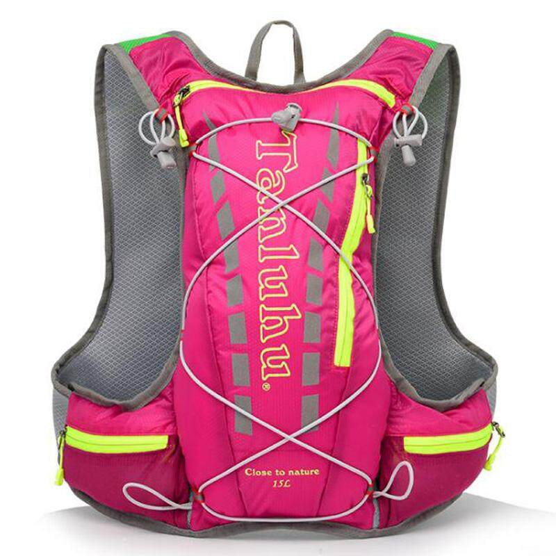 TANLUHU 15L Trail Running Backpack Hydration Vest Pack Outdoor Camping Hiking Running Water Hydration Sports Bag