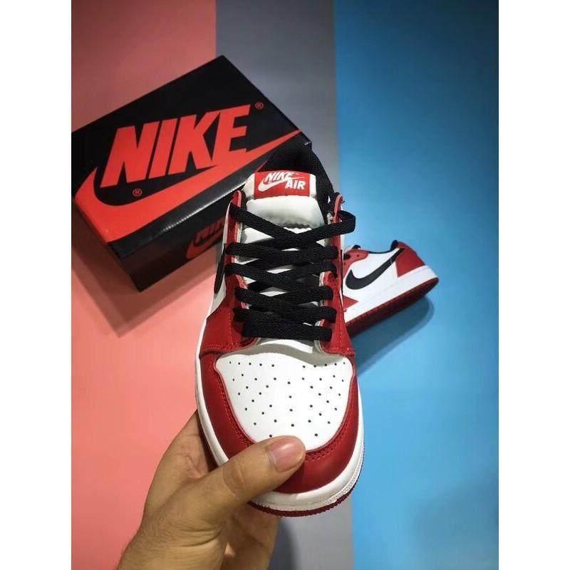 best website f0237 1ed05 Original Nike_ Air Jordan_ 1 Low Aj1 Low help Chicago AA3834 101