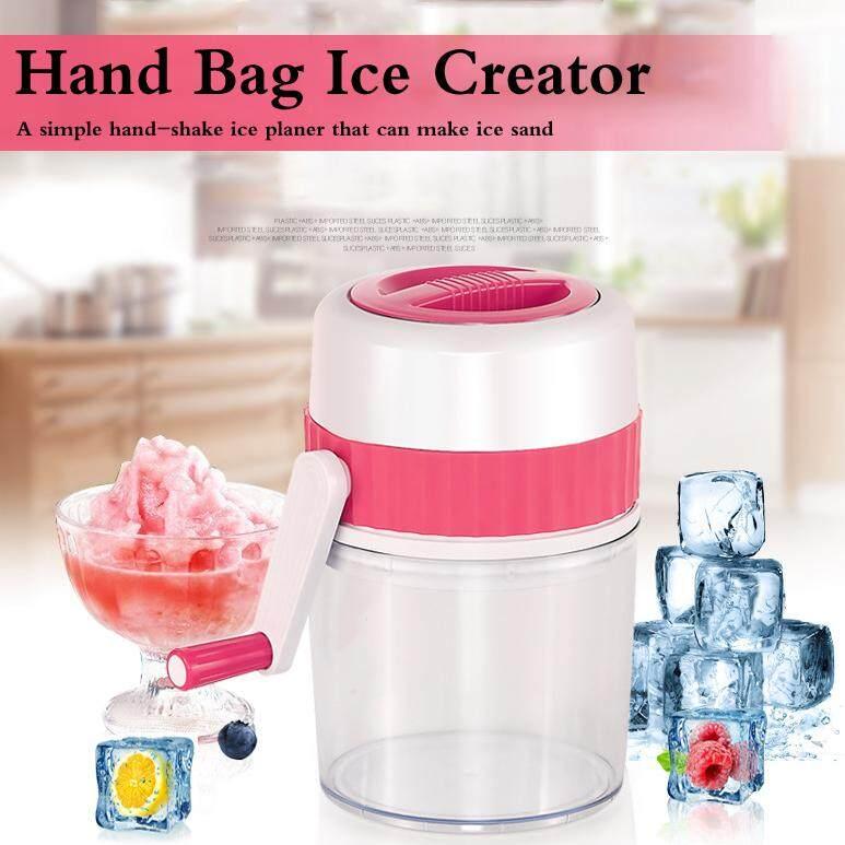 Tangan Penghancur Es Rumah Tangga Mini Manual Penghancur Es Portable Handheld Handstyle Salju Menghancurkan Es Mesin By Cicbpjbga.