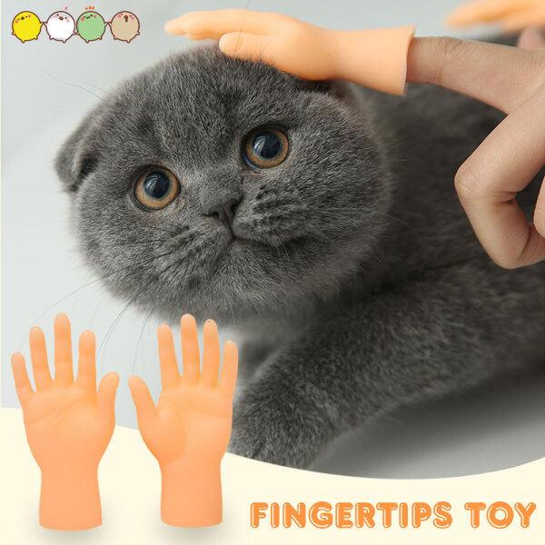 Đồ Chơi Mèo Tương Tác Hittime Cũi Ngón Tay Nhỏ Cho Mèo Găng Tay Đồ ChơI Mèo Mới Lạ Đồ Chơi Cũi Ngón Tay Nhỏ Bằng Silicon Đồ Dùng Cho Chó Mèo Thú Cưng