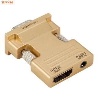 [Tenda] Bộ Chuyển Đổi HDMI Cái Sang VGA Đực W Cáp Âm Thanh Hỗ Trợ 1080P Đầu Ra Tín Hiệu (Thương Hiệu Lazmall Giá Thấp Chất Lượng Cao) thumbnail