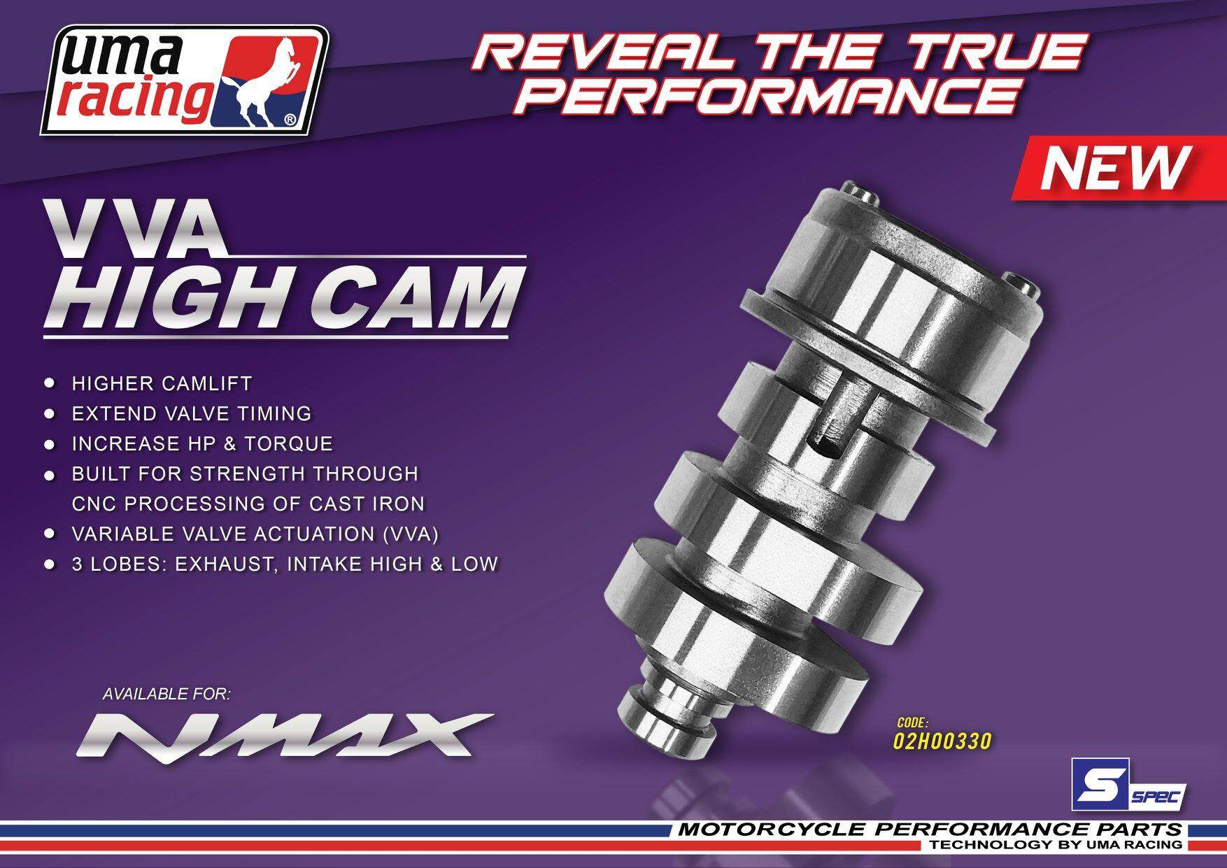 UMA RACING VVA HIGH CAM NMAX 155