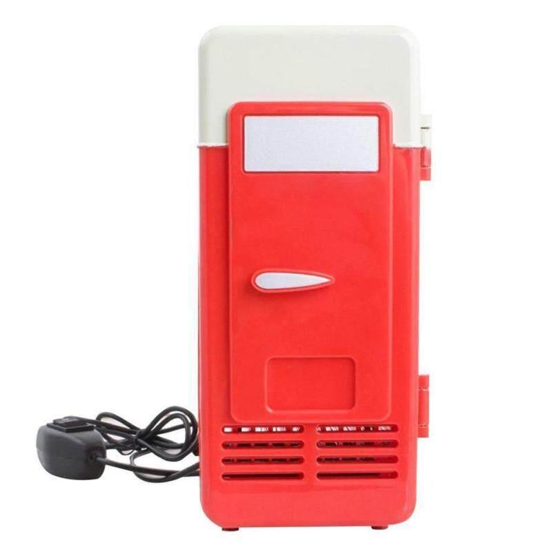Tủ lạnh Mini USB Duy Nhất Tủ Lạnh Di Động Xe MÁY TÍNH Mát Tủ Đông Lon Uống