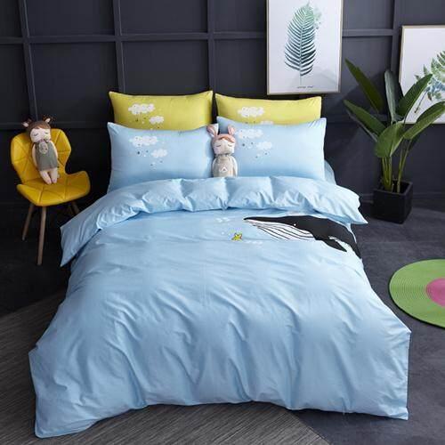 100%cotton Cartoon Bedding Set Ballet Girl For Kids Duvet Cover Set Bed Sheet Pillowcases Toddler Bed/twin/queen Size 3/4/pcs.