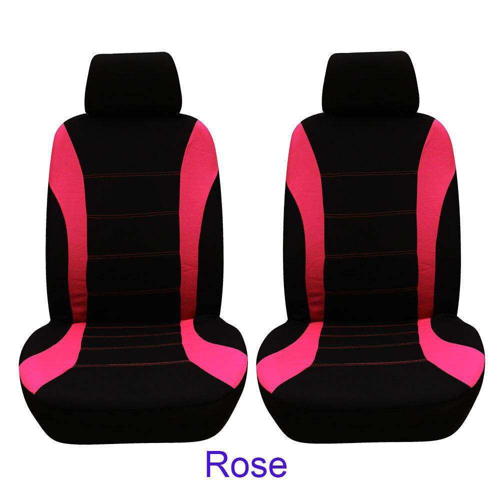 9pcs Universal Car Seat Cover Dustproof Seat Protectors Full Set YELLOW EJ