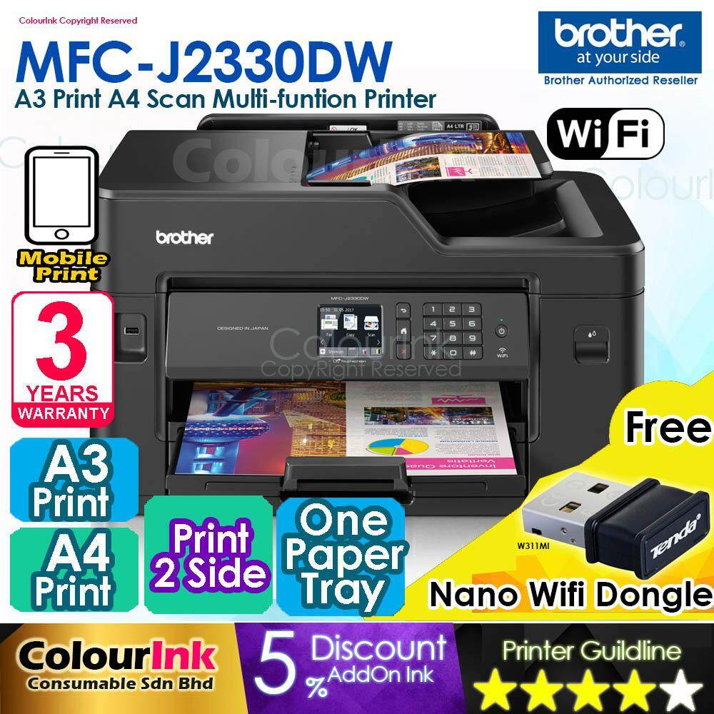 BROTHER MFC-J2330DW LAN DRIVERS FOR WINDOWS 10