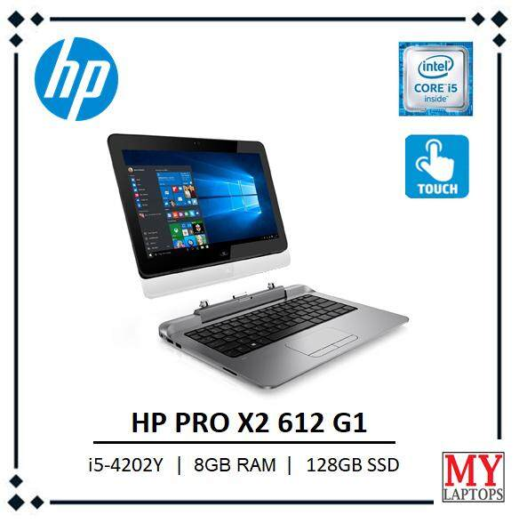 HP PRO X2 612 G1 business / 2 in 1 touchscreen tablet laptop / i5-4th gen / 8gb ram / 128gb ssd Malaysia