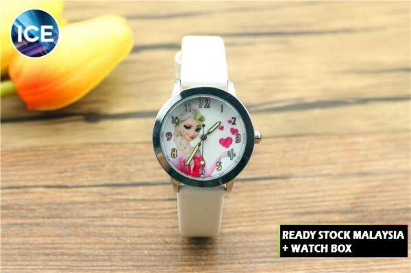 ICE Kids/Childrens Sport and Casual Frozen Analog Luminous Pointer Watches + Watch Box Best Gift Jam Tangan Malaysia