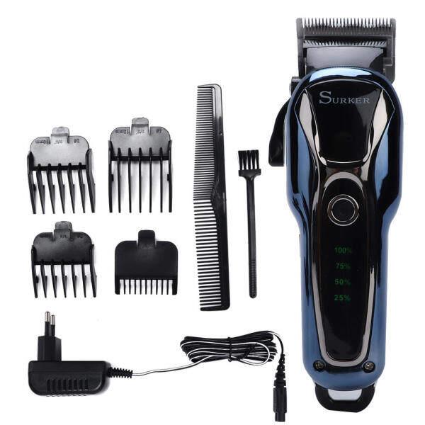 Máy cắt tóc Surker SK-803 cho nam, máy cắt tóc chuyên nghiệp có thể sạc điện có màn hình LCD nhập khẩu