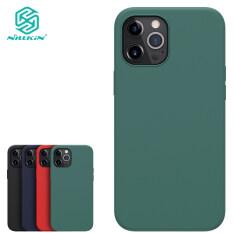 Ốp Silicon Dạng Lỏng Nillkin Dành Cho iPhone 12 / 12 Pro / 12 Mini/12 Pro Max Ốp Điện Thoại, Ốp Lưng Điện Thoại Silicon Lỏng Mịn Mềm Dẻo Nguyên Chất