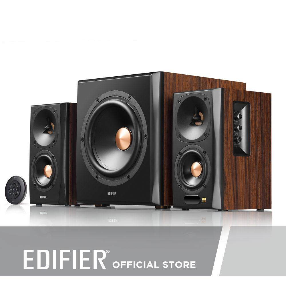 Edifier S360DB High Quality 2 1 Home Theater Speaker System with Bluetooth  aptX Technology