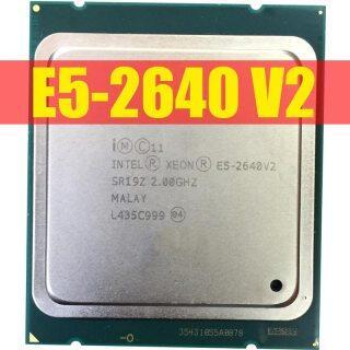 Miễn Phí Vận Chuyển, E5-2640 Intel Xeon E5-2640V2 CPU V2 Máy Chủ CPU LGA2011 Tám Nhân CPU E5 2640V2 E5 2640 V2 CPU 100% Hoạt Động Bình Thường thumbnail