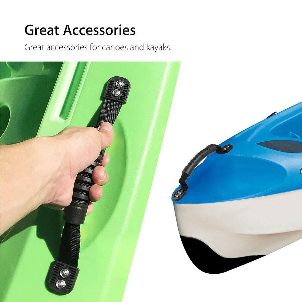 2 cái/bộ Lắp Đặt Dễ dàng TỰ LÀM Phụ Kiện Thoải Mái Bên Núi Mang Theo Thiết Bị Thiết Thực Cho Xuồng Thuyền NHỰA PVC Thuyền Kayak Tay Cầm - 6