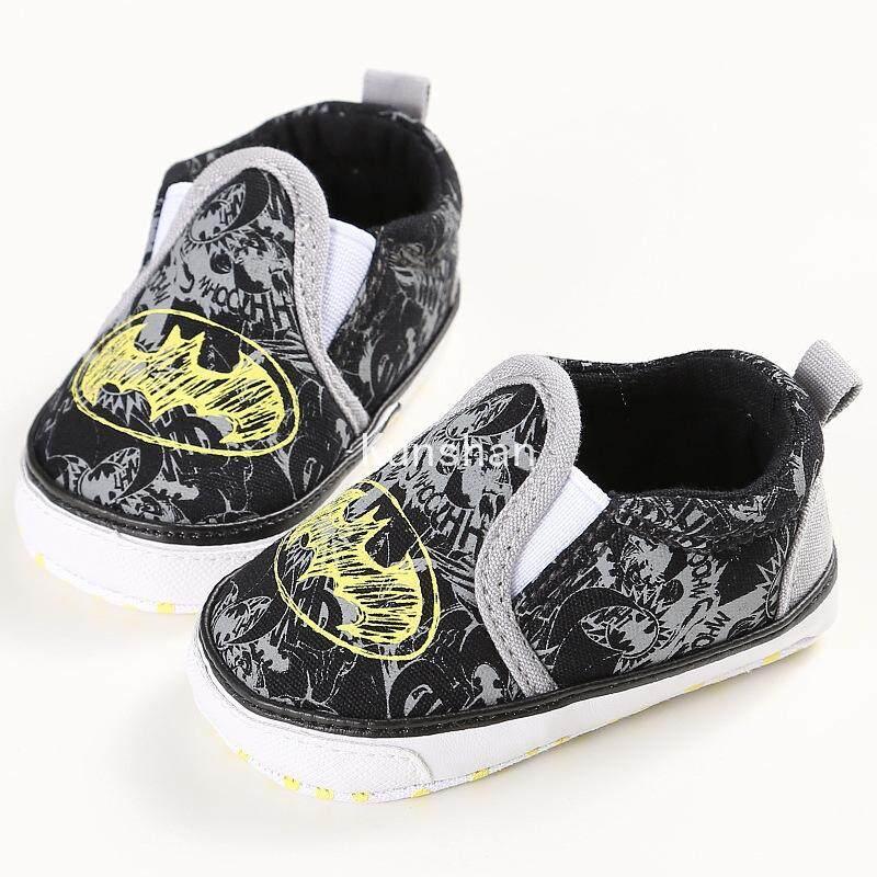 Kunshan 0-1Years Pria dan Wanita Bayi Sepatu Balita Alas Kaki Lembut Kasual Modis Sepatu