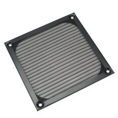 Computer Fan Cooling Dustproof Dust Filter Case Black Wire Grill Guard 12X12cm Malaysia