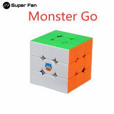(Siêu Hâm Mộ) GAN 356 Monster Go 3X3 Khối Ma Thuật Từ Tính, Đồ Chơi Khối Rubik Tốc Độ Chuyên Nghiệp 3X3X3 GAN 356 MG 3X3 Màu Hồng Cubo Magico GAN 3X3
