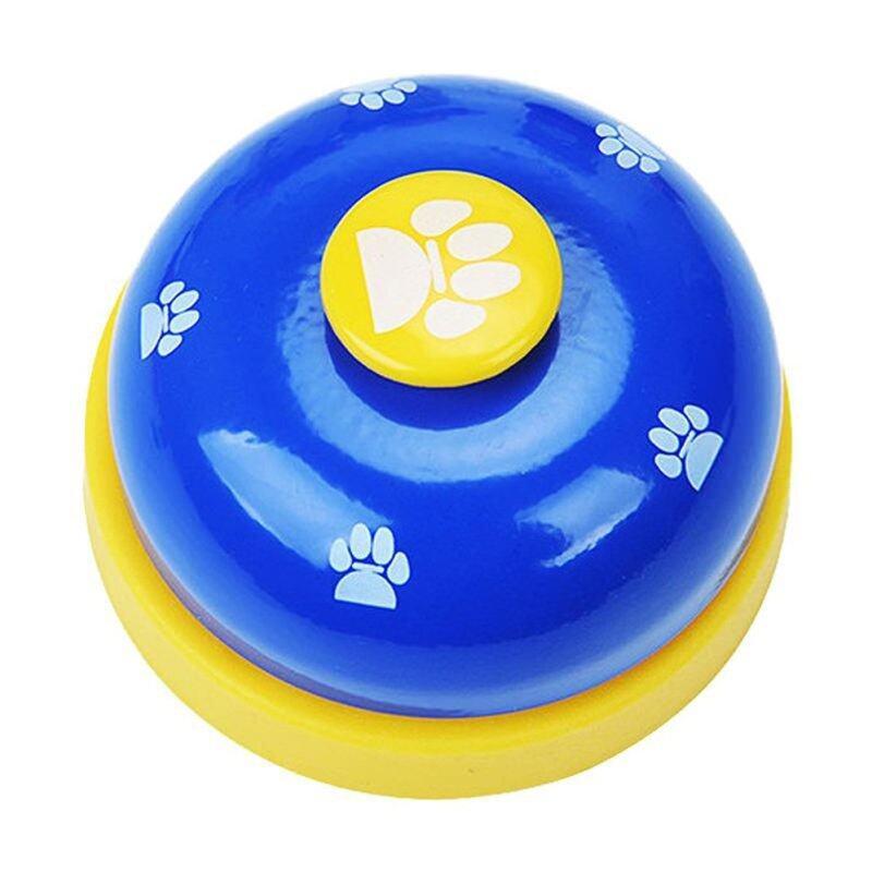 Chuông huấn luyện chó thú cưng BRC chuông huấn luyện thực tế không trượt đáy cao su thiết bị giao tiếp in dễ thương cho thú cưng