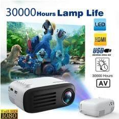 Máy Chiếu Mini YG200 Di Động, Đèn LED Quay Video HD 1080P, Dùng Tại Nhà, Rạp Chiếu Phim, AV, HDMI, USB