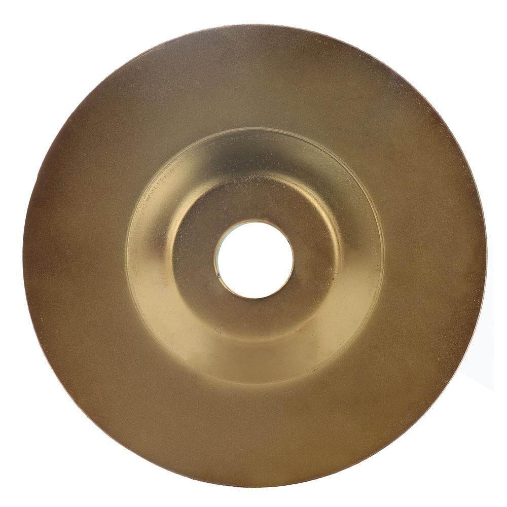[Wondering]100mm*16mm Diamond Grinding Wheel Disc Golden Polishing Disc