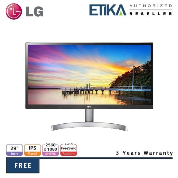 LG 29WK600 29 IPS 75Hz 21:9 UltraWide WFHD (2560x1080) HDR10 FreeSync Monitor with Speaker (2x HDMI+DP+Audio Out) Malaysia