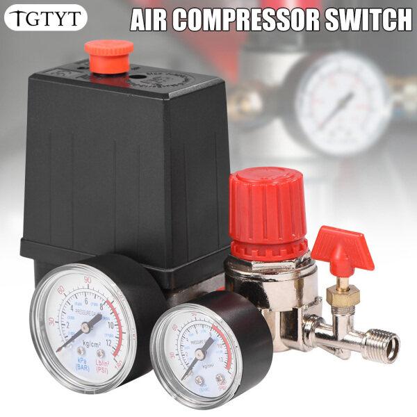TGTYT Air Compressor Pressures Switch Control Adjustable Air Regulator Valves Compressor Four Holes
