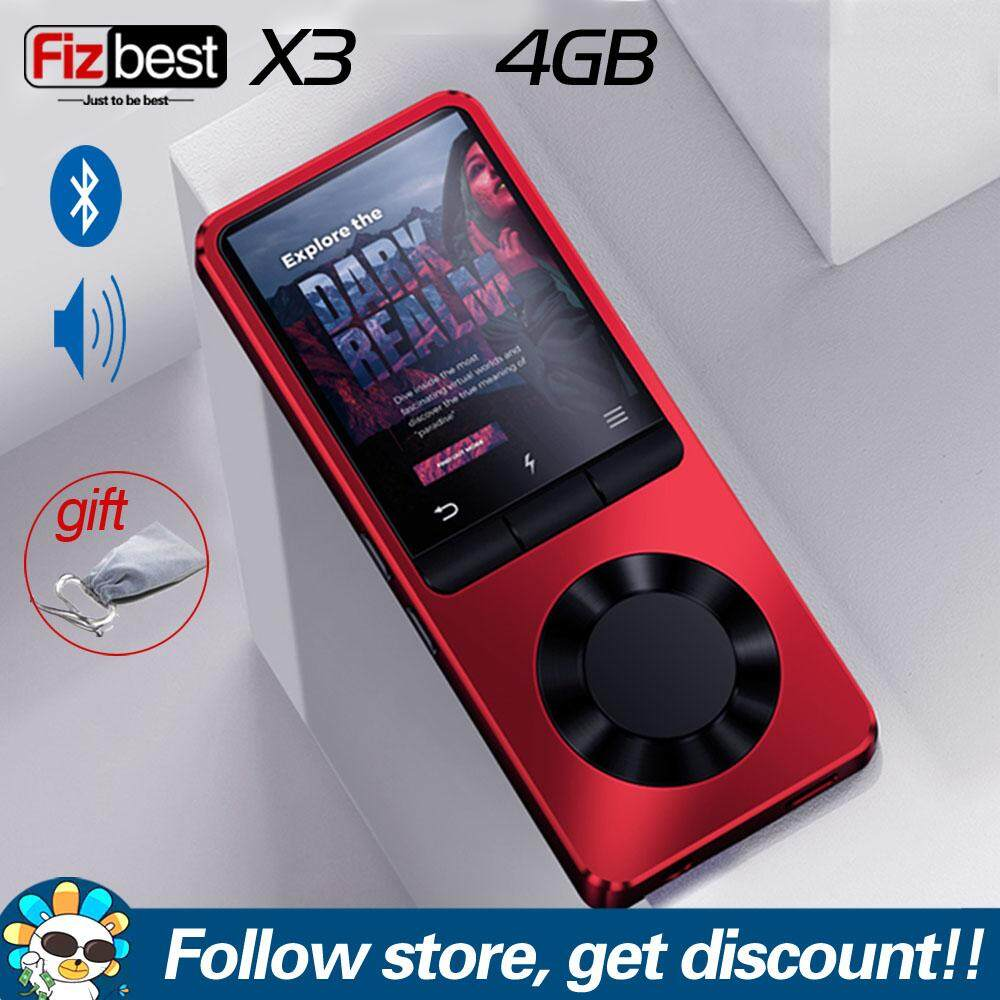 "Bluetooth 8GB MP3 MP4 Media Player 1.8/"" Inch Video Audio FM Radio TF Recording"