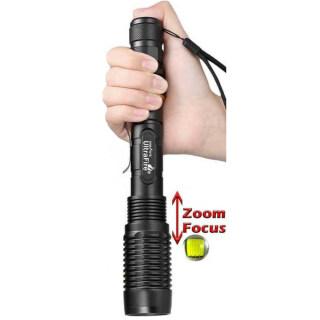 Đèn Pin Chiến Thuật LED 5 Chế Độ Đèn Pin LED Hợp Kim Nhôm Có Thể Phóng To 350000 Lumen thumbnail