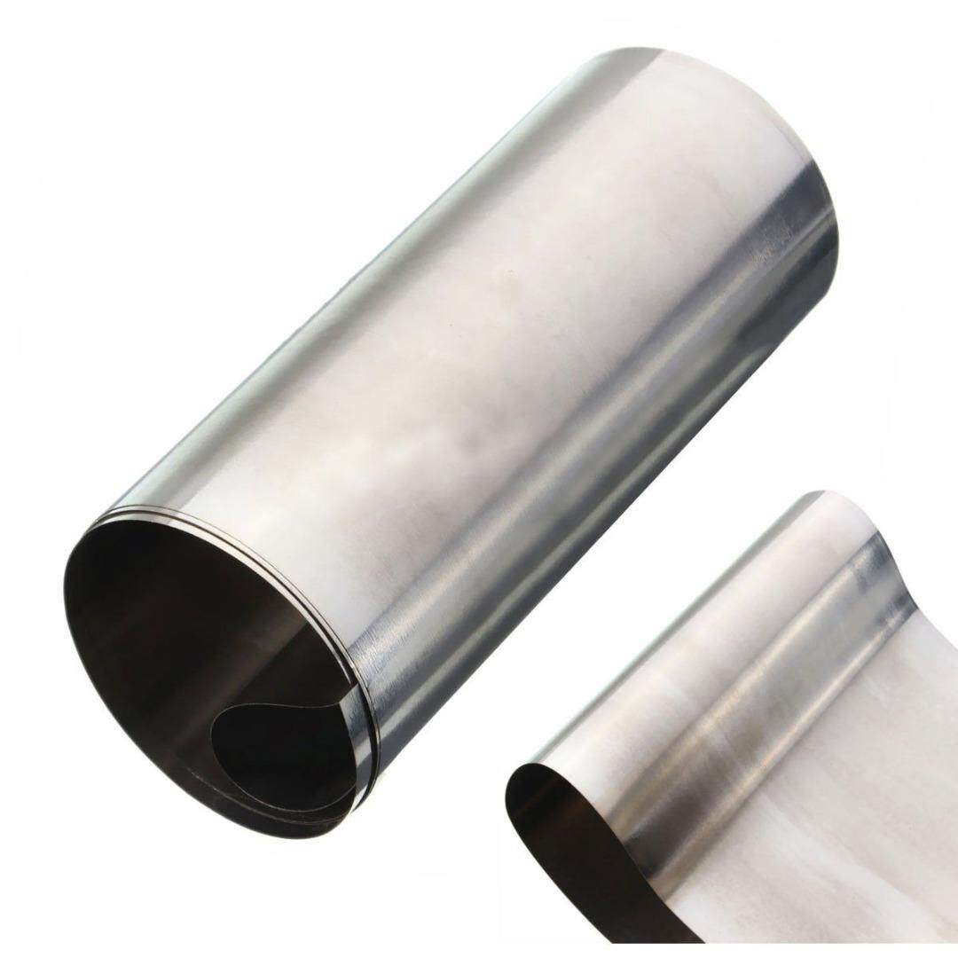 1pc New Silver 304 Stainless Steel Fine Plate Sheet Foil 0.1mm*100mm*1000mm