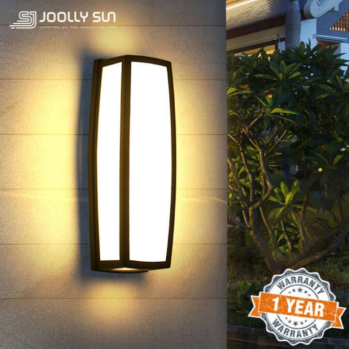 Wall Sconce Light Fixture Modern Wall Art Garden Accessories Outdoor Wall Light Wall Lamp Outdoor Lighting Lazada