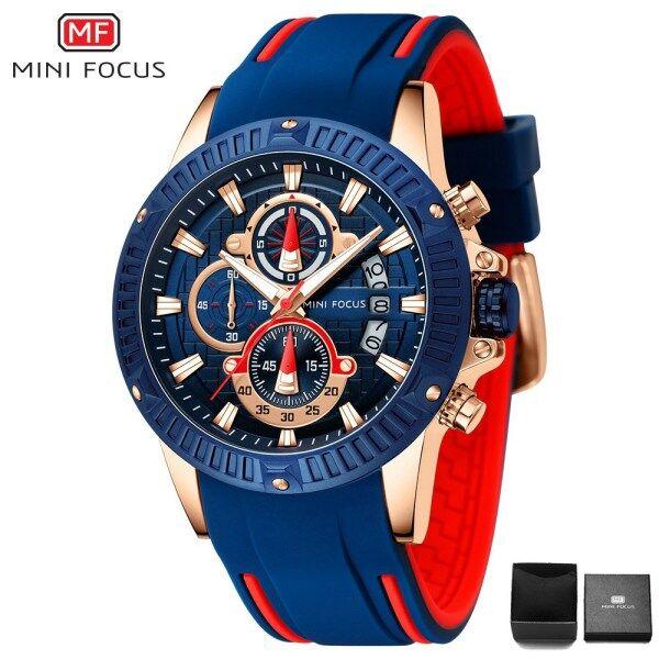 MINIFOCUS MINI FOCUS MF0244G Top Luxury Brand Watch For Man Fashion Sports Men Quartz Watches Trend Wristwatch Gift For Male jam tangan lelaki Malaysia