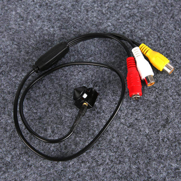1000TVL Có Dây HD Giám Sát Video IR CCTV Micro Camera Âm Thanh Nhỏ Màu Đen Hấp Dẫn