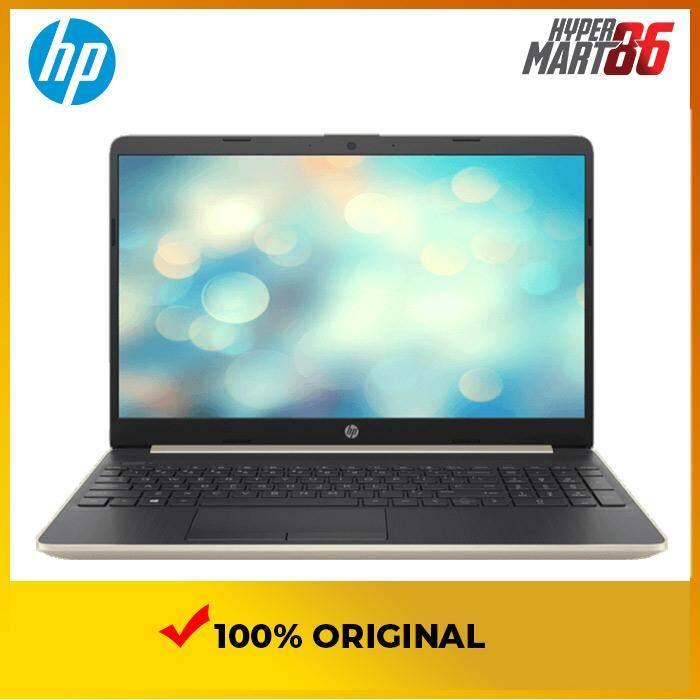 HP 15S-DU1005TX Notebook Gold (15.6inch/Intel I5/4GB/512GB SSD/MX130 2GB) Malaysia