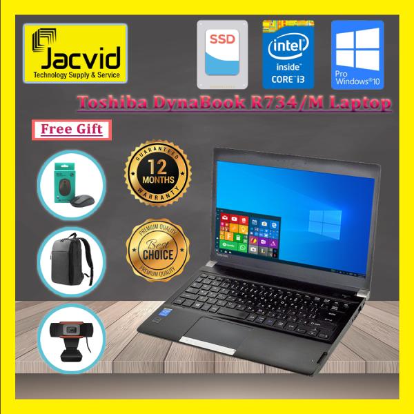TOSHIBA DYNABOOK R734M 13.3 Laptop (I5 (4th Gen) 4300M/4GB RAM/120GB SSD/256GB SSD)Grade A *Free Wireless Mouse /Laptop Bag Malaysia