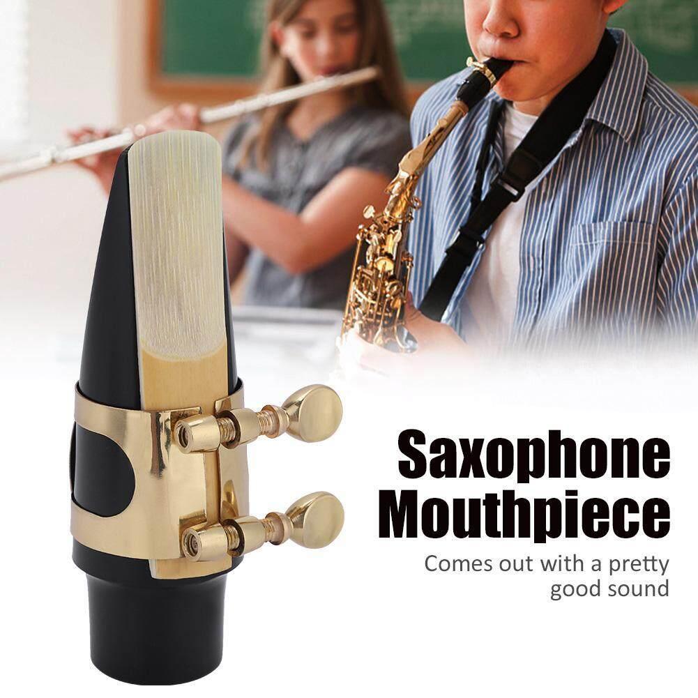 Tenor Sax Saxophone ABS Cơ Quan Ngôn Luận Có Nắp Khóa Kim Loại Reed Miếng Dụng Cụ Âm Nhạc