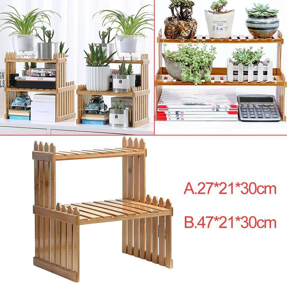 White Thickened Plant Shelf Support Solid Alpine Bamboo Folding Plant Stand Flower For Home Decor Wood Floor Mimbarschool Com Ng