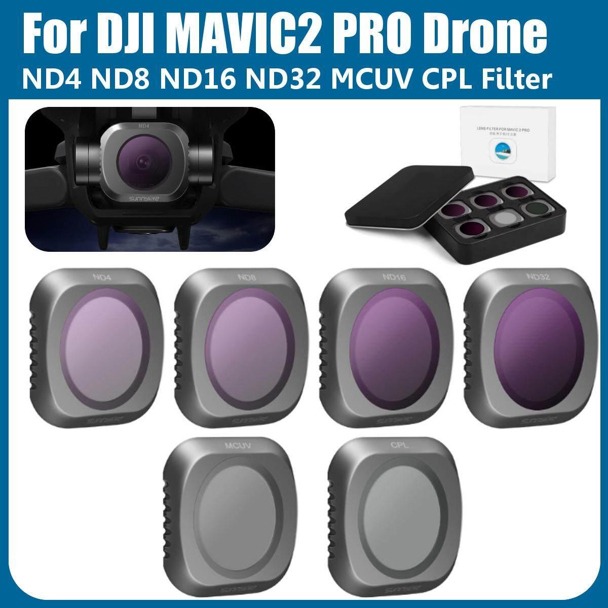 Giá Cho DJI MAVIC2 PRO Drone Camera Ống Kính Lọc MCUV CPL ND4 ND8 ND16 ND32 Lọc