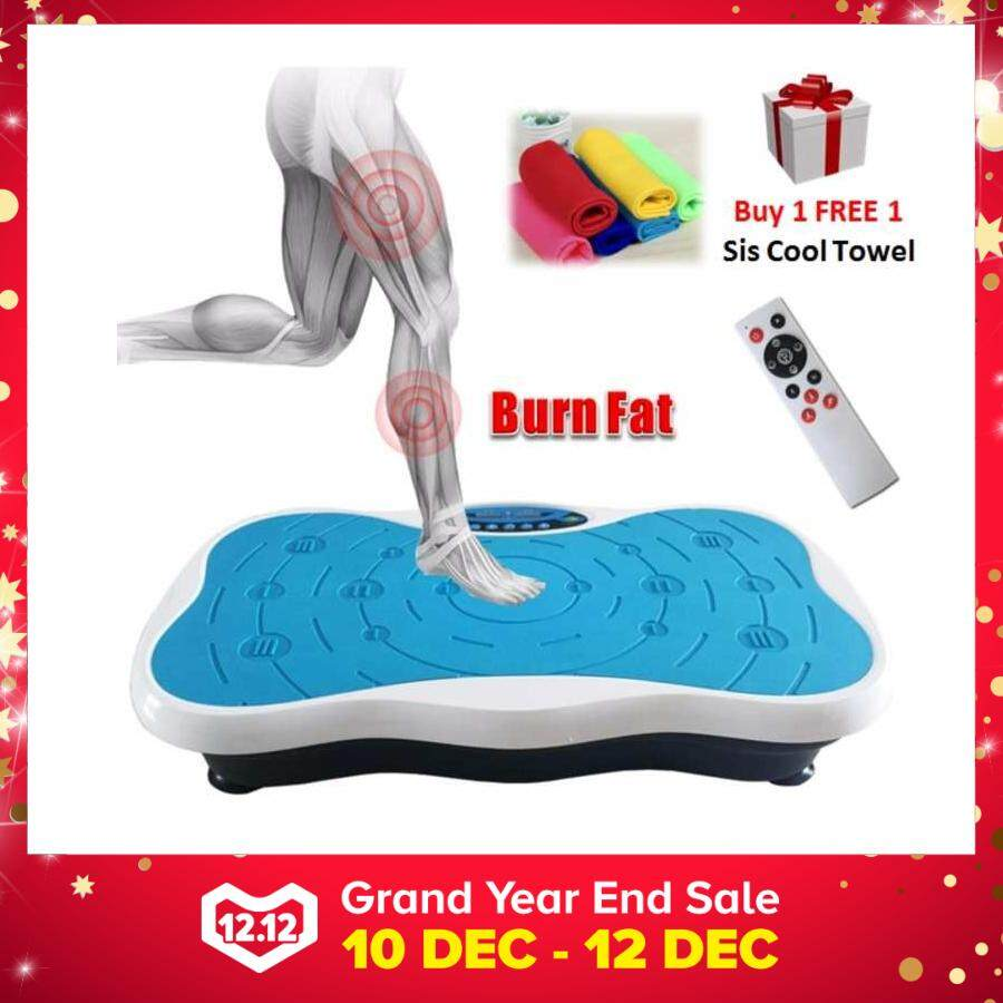 New 999 Adjustable Speed Whole Body Vibration Ez Shaker Shaper Slimming Fitness Exercise (blue) By Cs Mall.