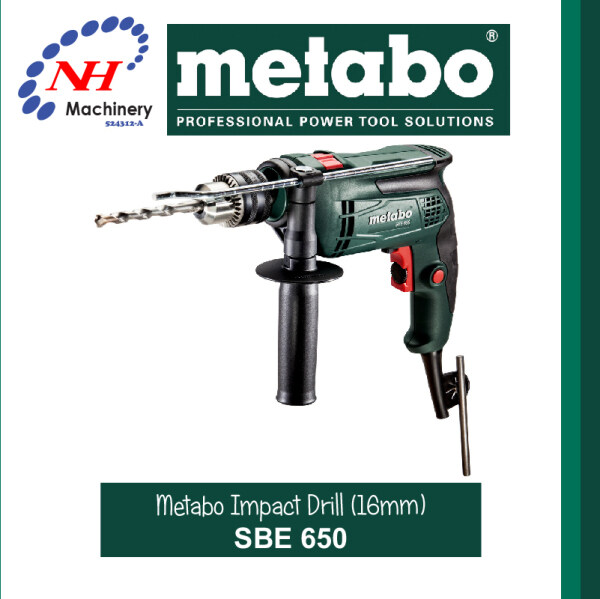 Metabo SBE 650 Impact Drill (16MM)