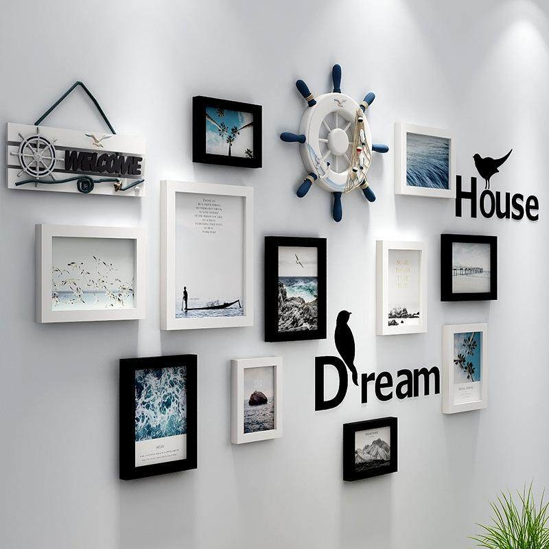 As Wall Frame Wall Combination Living Room Frame Photo Frame Creative European Style Frame Wall