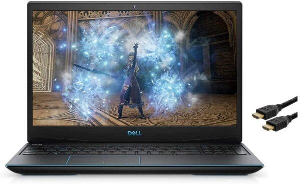 Dell_G3 15.6 FHD (1920 x 1080) 120Hz LED Display Gaming Laptop, 10th Gen i5-10300H, GTX 1650 4GB, 8GB RAM, 256GB M.2 PCIe SSD, Backlit Keyboard, Wi-Fi 6, HDMI, Win 10 home with Santax Accessories Malaysia