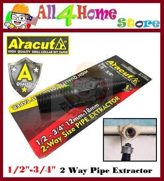 1/2  -3/4  (12mm-18mm) ARACUT 2-Way Pipe Extractor