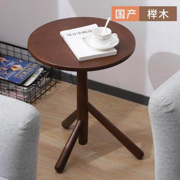 Vlush sofa a few Nordic wood coffee table seating corner coffee table bedroom simple ins small round table