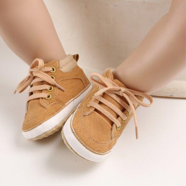 Dễ Thương Cho Bé Kid Bé Trai Tập Đi Cho Trẻ Sơ Sinh Giày Đế Mềm Cũi Giày Causual Giày Sneaker 0-18 Tháng giá rẻ