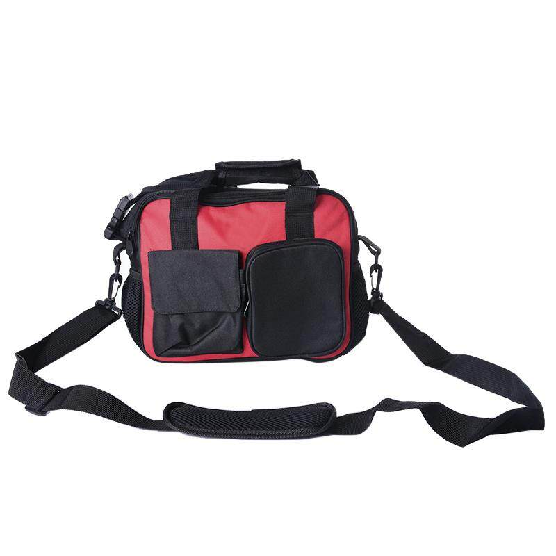 [Tool Bag]1Pcs Oxford Cloth Multiple pockets Open-Top Tool Bag Pouch Organizer With Shoulder Strap For Tool Storage
