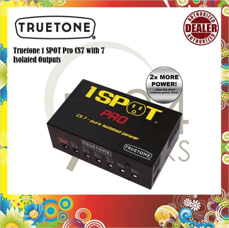 Truetone 1 SPOT Pro CS7 Power Supply with 7 Isolated Outputs Malaysia