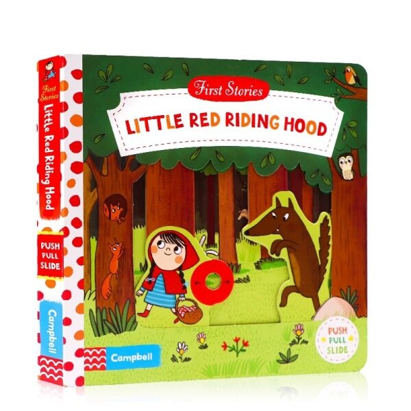 First Stories: Little Red Riding Hood Board book English By Natascha Rosenberg ChildsBook BabyBook Malaysia