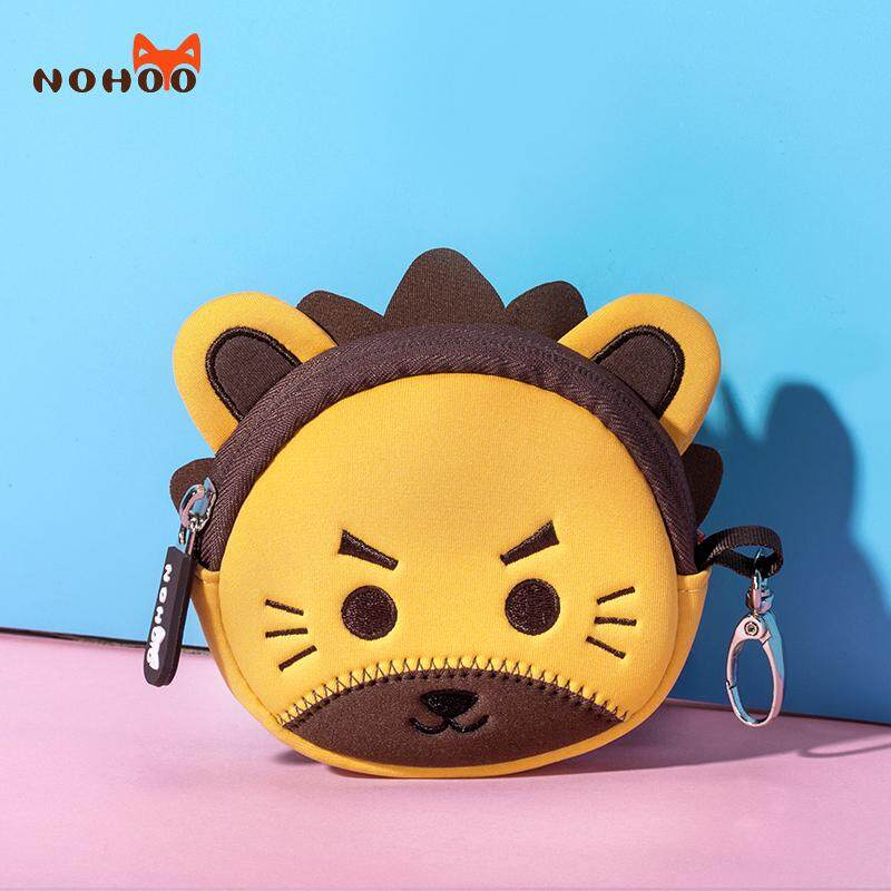 Nuohu new small wallet purse mini coin bag Korean version of the cute cartoon boys and girls portable storage wallet